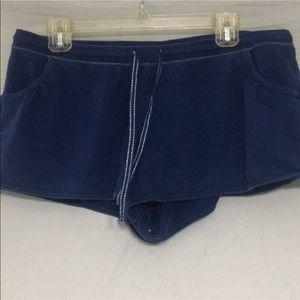 Large Blue Sleep Shorts